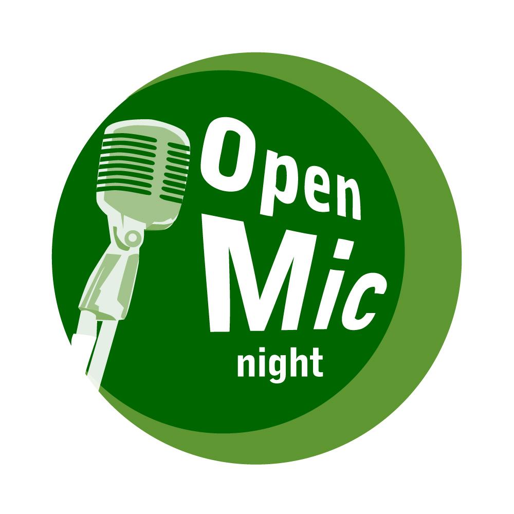 mosaic_community_land_trust_open_mic_night_logo_design
